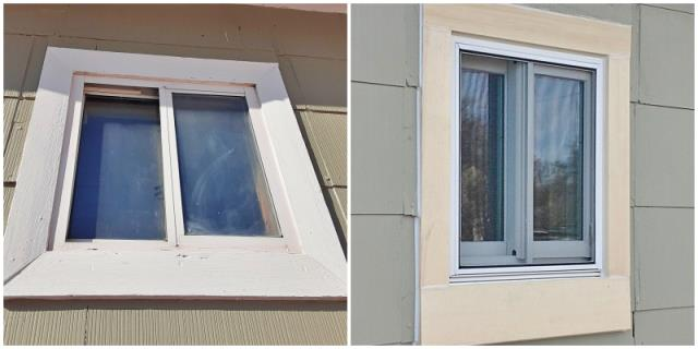 Torrington, WY - This Torrington home upgraded their windows to Renewal by Andersen Fibrex.