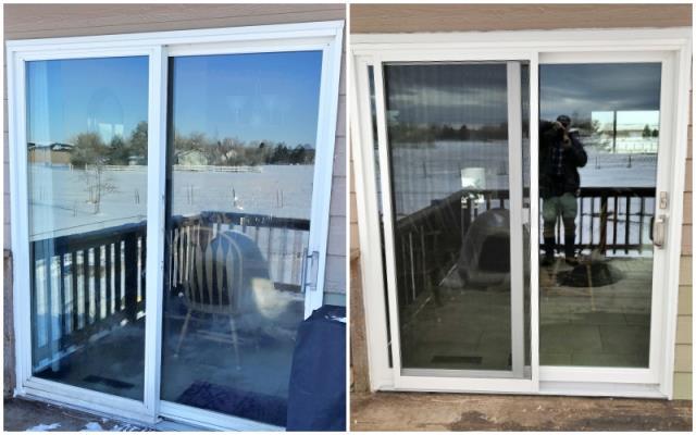 Shepherd, MT - This Shepherd home upgraded their patio door to a Renewal by Andersen glider.