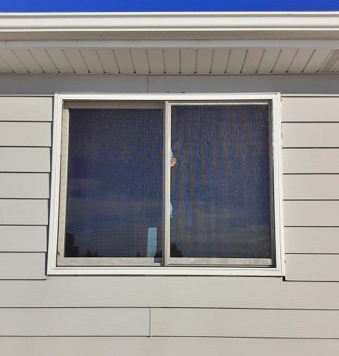 Yoder, WY - This Yoder home upgraded their windows to Renewal by Andersen Fibrex.