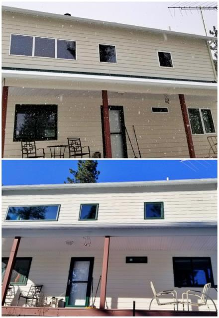 Huson, MT - This Huson home upgraded their windows to Renewal by Andersen Fibrex, giving their house a nice face-lift.