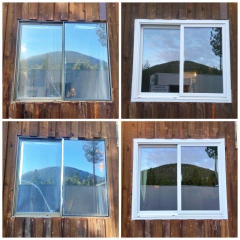Saint Regis, MT - This St. Regis home upgraded their old broken windows to Renewal by Andersen Fibrex windows.