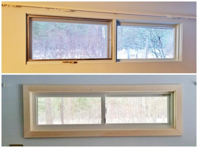 Missoula, MT - This Missoula home upgraded their old windows to more efficient and visually appealing Renewal by Andersen Fibrex windows.