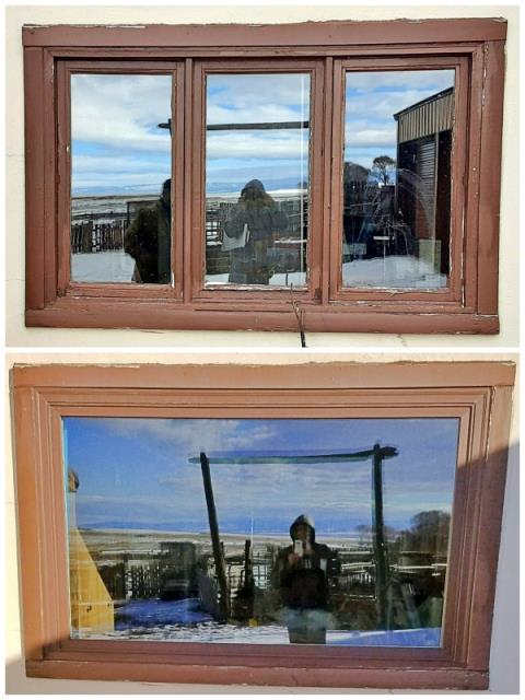 Laramie, WY - This Laramie home upgraded their old wooden windows to Renewal by Andersen Fibrex windows.