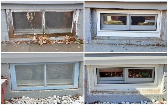 Casper, WY - This Casper home upgraded their rotting wood windows to Renewal by Andersen Fibrex windows, increasing curb appeal and energy efficiency.