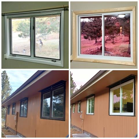 Clancy, MT - This Clancy home will be enjoying their already beautiful views through new, energy efficient Renewal by Andersen Fibrex windows!