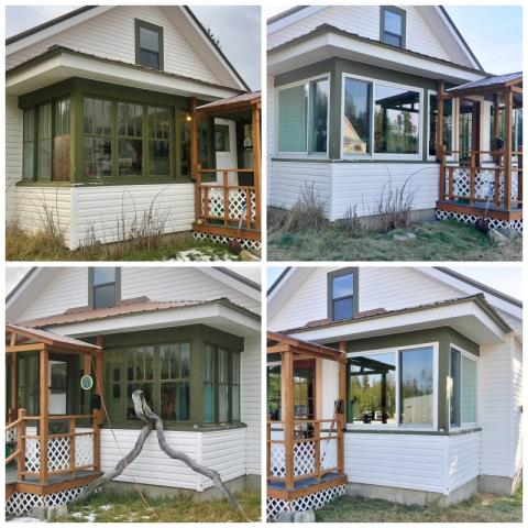 Marion, MT - This Marion home upgraded their windows to Renewal by Andersen Fibrex and we cannot believe the visual update, not to mention the energy savings they will absolutely see!  What a great investment for a home!