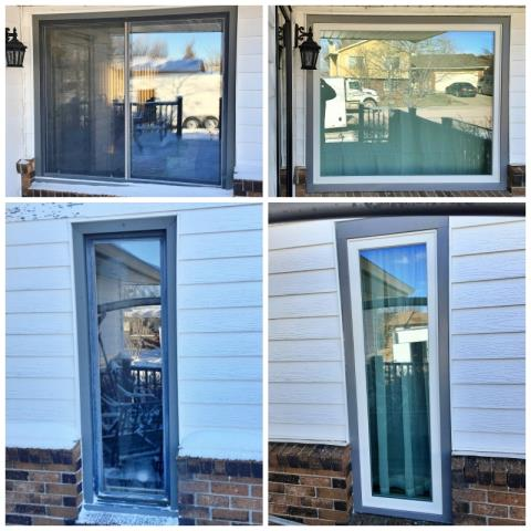Gillette, WY - This Gillette home upgraded their windows to more efficient Renewal by Andersen Fibrex windows.