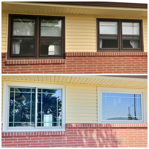 Rawlins, WY - This Rawlins home not only enhanced their energy efficiency, but also brightened up the face of their home by choosing Renewal by Andersen Fibrex windows.