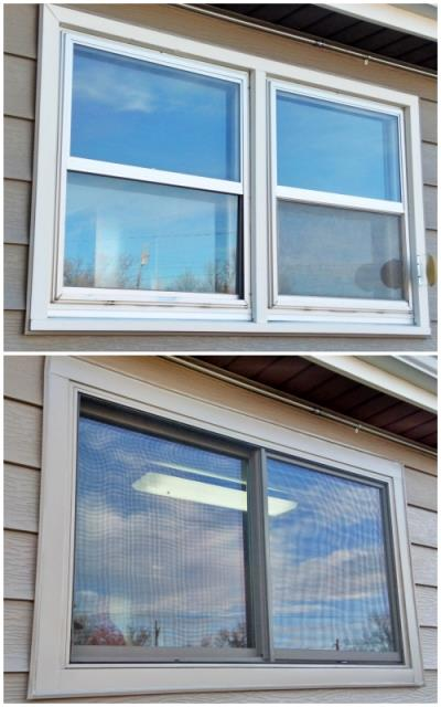 Gillette, WY - This Gillette home had their 1961 wood-clad windows replaced with more efficient, visually appealing Renewal by Andersen Fibrex windows.