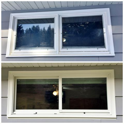 Anaconda, MT - This Anaconda home upgraded their windows to Renewal by Andersen Fibrex, increasing energy efficiency and clarity.