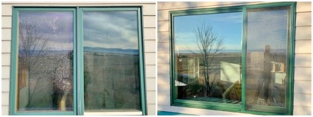 Belgrade, MT - This Belgrade home upgraded their old aluminum windows to Renewal by Andersen Fibrex.