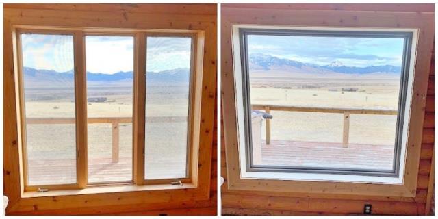 Ennis, MT - This Ennis home upgraded their windows to Renewal by Andersen Fibrex.