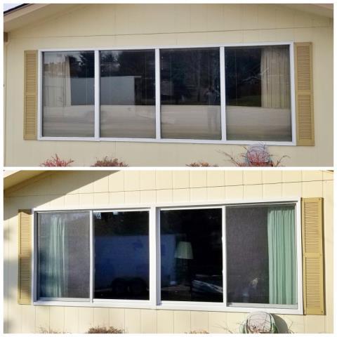 Missoula, MT - This Missoula home upgraded their windows to Renewal by Andersen Fibrex, increasing their energy efficiency.