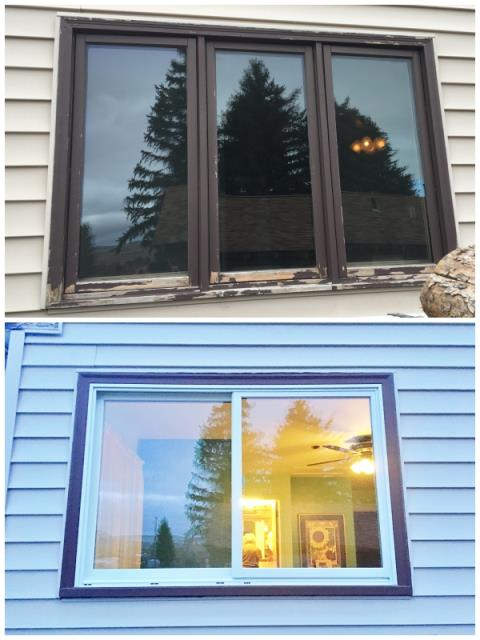 Butte, MT - This Butte home upgraded their windows to Renewal by Andersen Fibrex, increasing efficiency and curb appeal.
