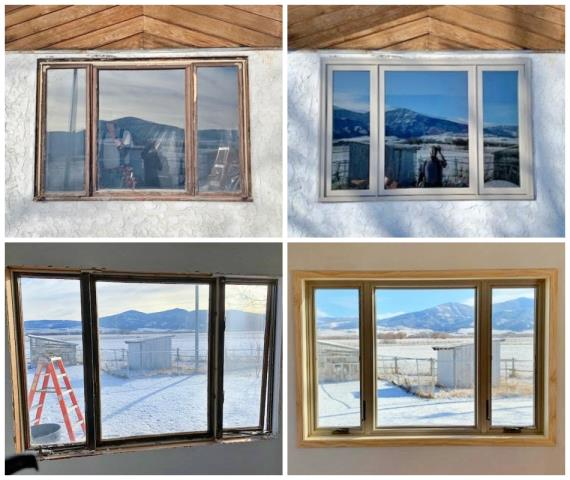 Bozeman, MT - This Bozeman home upgraded their windows to Renewal by Andersen Fibrex, increasing energy efficiency and curb appeal.