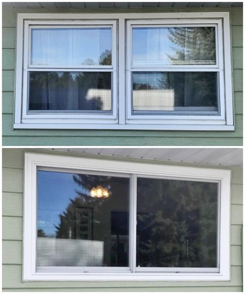 Cody, WY - This Cody home upgraded their windows with Renewal by Andersen Fibrex.