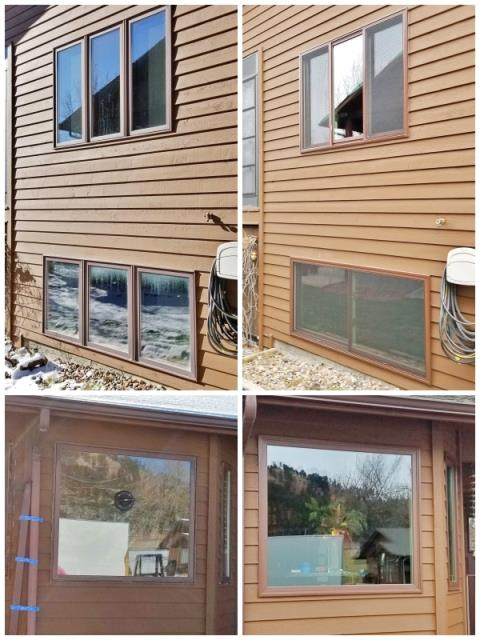 Rapid City, SD - This Rapid City home upgraded their windows to Renewal by Andersen Fibrex, increasing energy efficiency and clarity.