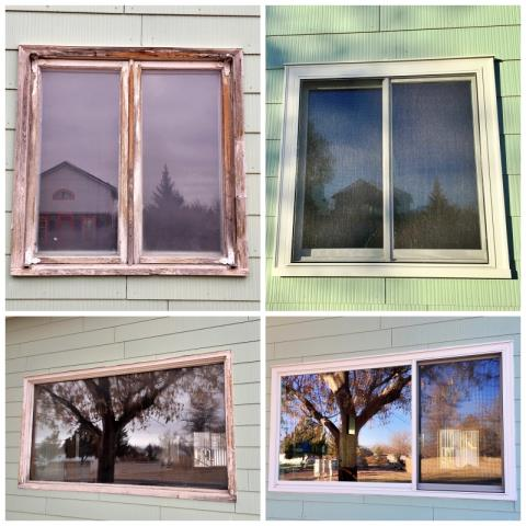 Dillon, MT - This Dillon home received a major face-lift when they chose Renewal by Andersen Fibrex windows to update their old wood windows.