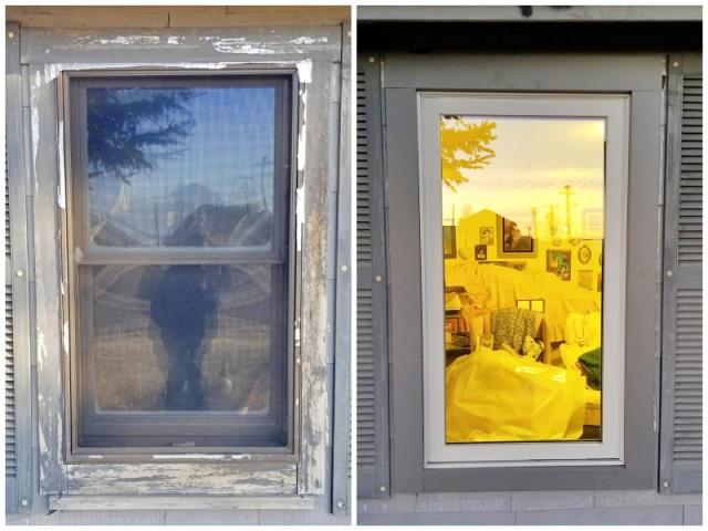 Drummond, MT - This Drummond home upgraded their windows to Renewal by Andersen Fibrex, increasing energy efficiency and curb appeal.