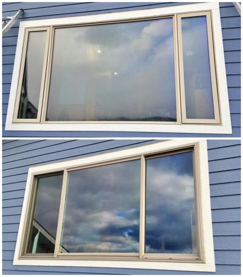 Missoula, MT - This Missoula home upgraded their vinyl windows to more durable and efficient Renewal by Andersen Fibrex.