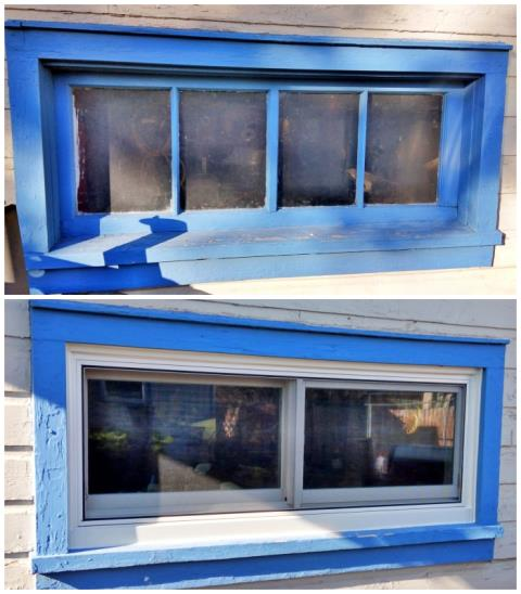 Rapid City, SD - This Rapid City home upgraded their windows to Renewal by Andersen Fibrex, enhancing their energy efficiency and curb appeal.