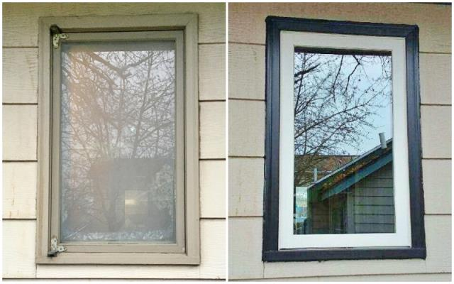 Polson, MT - This Polson home upgraded their windows to Renewal by Andersen Fibrex.