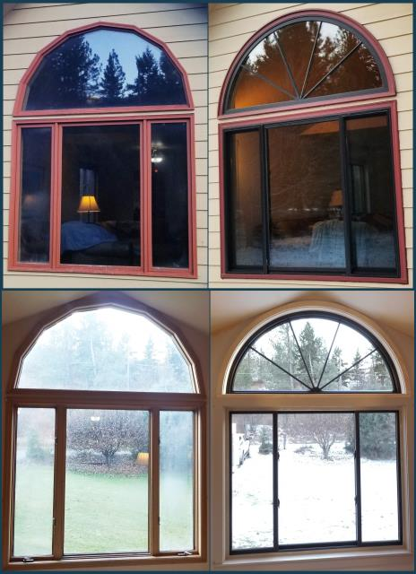 Missoula, MT - This Missoula home upgraded their old windows to Renewal by Andersen Fibrex, increasing energy efficiency and clarity.