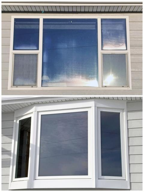 Laurel, MT - This Laurel home upgraded their windows to Renewal by Andersen Fibrex, increasing their energy efficiency and curb appeal.