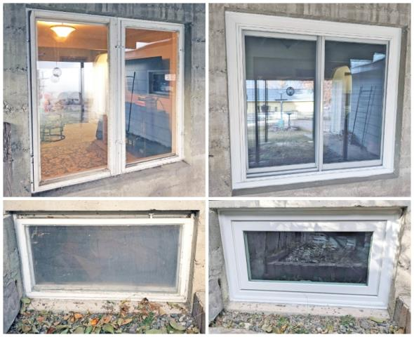 Helena, MT - This Helena home upgraded their old windows to new Renewal by Andersen Fibrex, enhancing their energy efficiency and curb appeal.