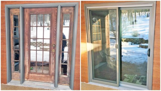 Spearfish, SD - This Spearfish home upgraded their old entry door to a Renewal by Andersen patio glider.