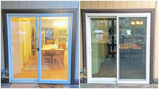 Columbia Falls, MT - This Columbia Falls home upgraded their patio door to a Renewal by Andersen glider.