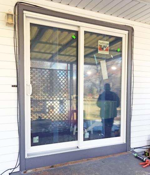 Sidney, NE - This Sidney home upgraded their patio door to Renewal by Andersen.