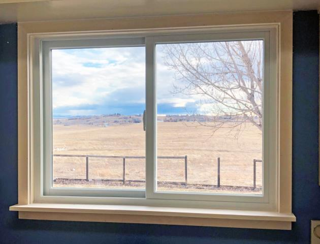 Great Falls, MT - This Great Falls home is enjoying crystal clear views out their new Renewal by Andersen Fibrex windows.