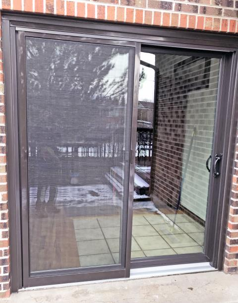 Cheyenne, WY - This Cheyenne home upgraded their patio door to a Renewal by Andersen glider.