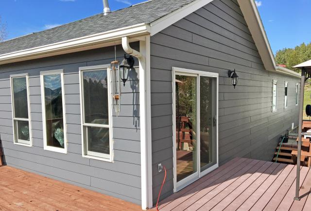 Clancy, MT - This Clancy home upgraded their windows and patio door to Renewal by Andersen products.