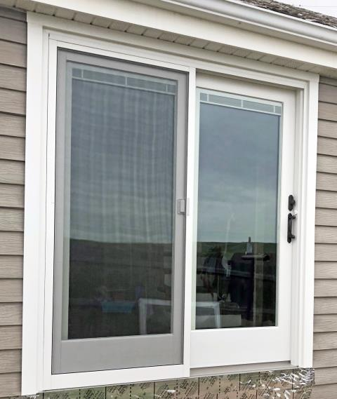 Shelby, MT - This Shelby home upgraded their patio door to a Renewal by Andersen glider.