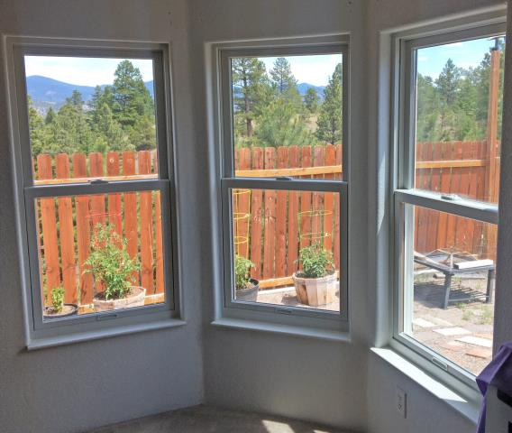 Helena, MT - This Helena home upgraded their windows to more efficient Renewal by Andersen Fibrex windows.