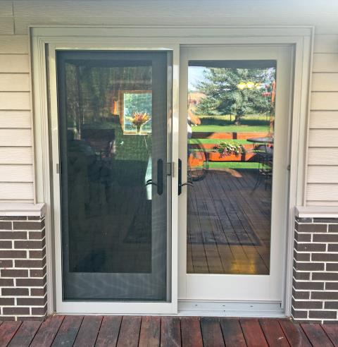 Sheridan, WY - This Sheridan home upgraded their patio door to a Renewal by Andersen French door.
