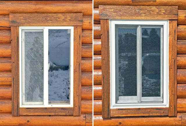 Buffalo, WY - This Buffalo home upgraded their windows to Renewal by Andersen Fibrex windows.
