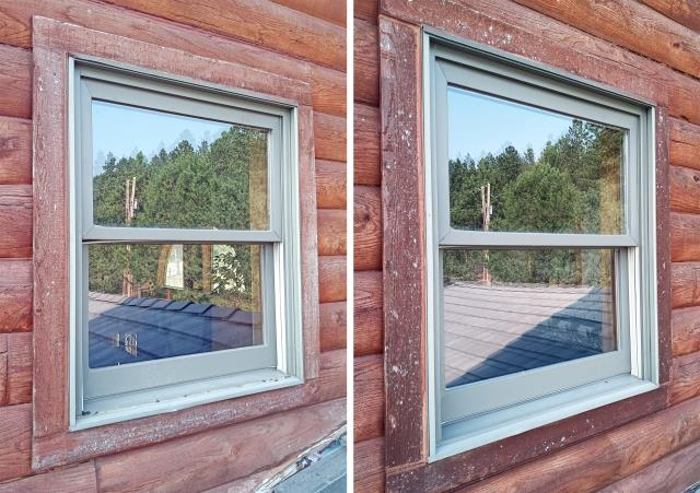 Rapid City, SD - This Rapid City home upgraded their windows to more energy efficient Renewal by Andersen Fibrex windows.