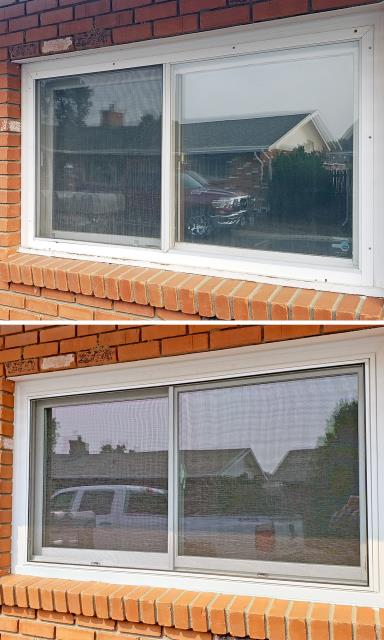 Billings, MT - This Billings home upgraded their windows to Renewal by Andersen Fibrex windows.