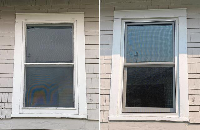 Butte, MT - This Butte home upgraded their windows to Renewal by Andersen Fibrex, increasing their energy efficiency and curb appearance.