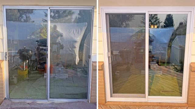 Laramie, WY - This Laramie home upgraded their patio door to a more modern and efficient Renewal by Andersen glider.
