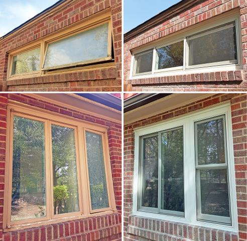 Rawlins, WY - This Rawlins home upgraded their windows to more modern and efficient Renewal by Andersen Fibrex windows.