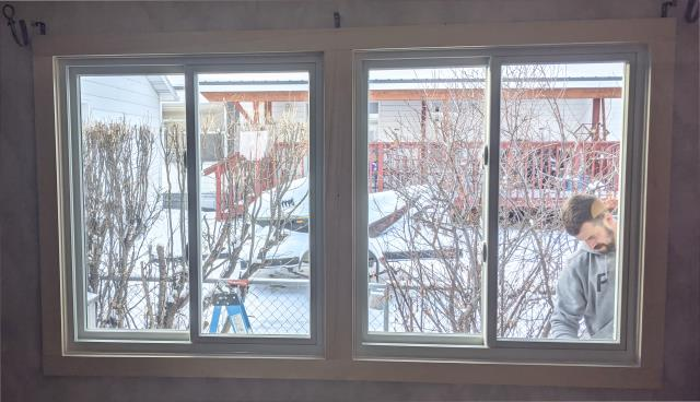 Butte, MT - This home in Butte upgraded to our Fibrex Energy Efficient Sliding Windows.