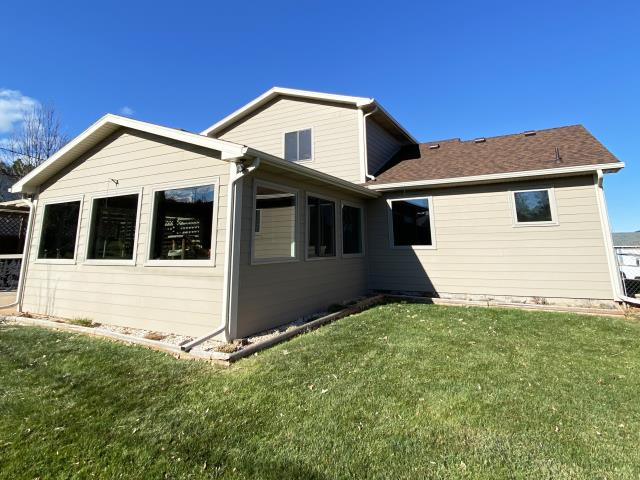 Black Hawk, SD - This home in Black Hawk, SD upgraded their home with our Energy Efficient Fibrex Windows!