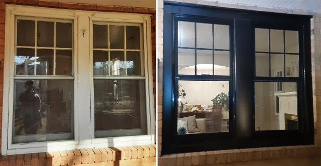 Cheyenne, WY - This home in Cheyenne, WY upgraded their windows to our Energy Efficient Double Hung Fibrex Windows!