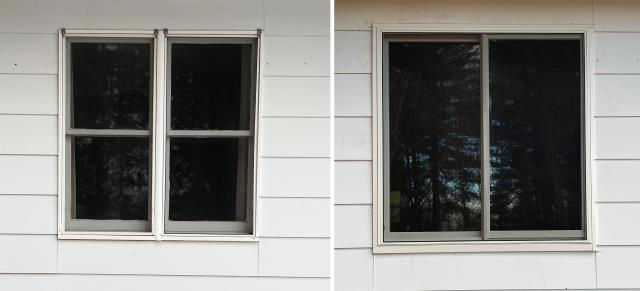 Kalispell, MT - This Kalispell, MT home upgraded their windows to our Fibrex Energy Efficient Windows!
