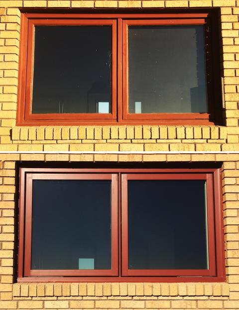 Scottsbluff, NE - This home in Scottsbluff, NE upgraded their windows to our Energy Efficient Fibrex Windows!