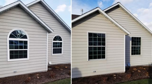 Missoula, MT - This home in Missoula, MT upgraded their windows to our Energy Efficient Fibrex Windows!